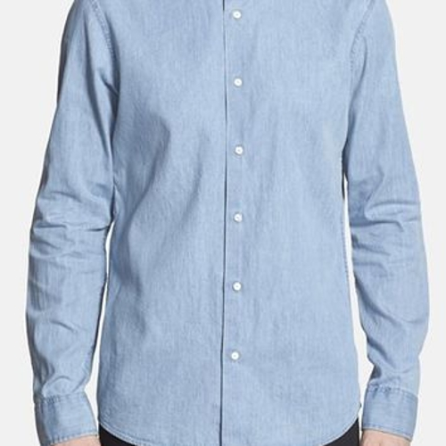 Denim Sportshirt by Michael Kors in Me and Earl and the Dying Girl