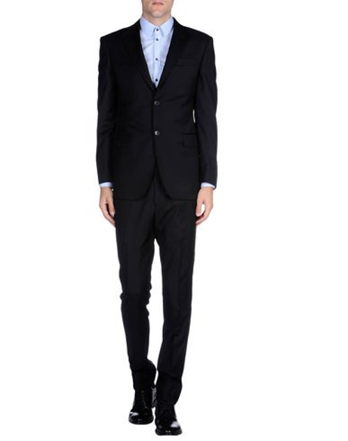 Lapel Collar Suit by Pierre Balmain in Spy