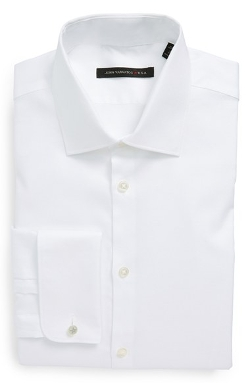 Slim Fit French Cuff Dress Shirt by John Varvatos Star USA in Paper Towns