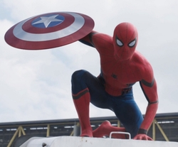 Custom Made Classic Spider-Man Suit by Judianna Makovsky (Costume Designer) in Captain America: Civil War