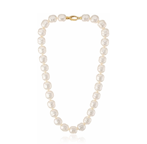 Baroque Pearl Necklace by Majorica in Keeping Up With The Kardashians - Season 12 Episode 4
