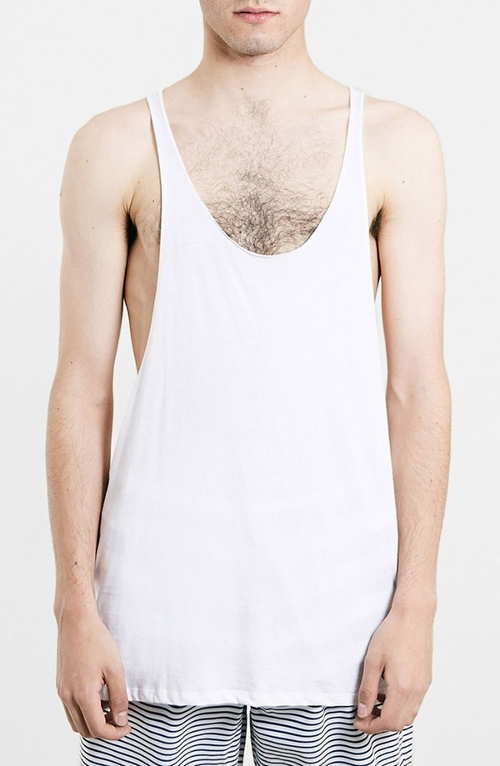 Low Cut Racerback Tank Top by Topman in Southpaw