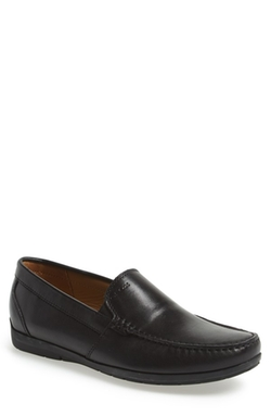 'Simon W2' Venetian Loafers by Geox in Ballers