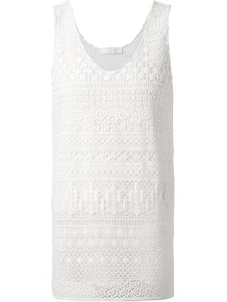 Crochet Tank Top by Chloé in Nashville