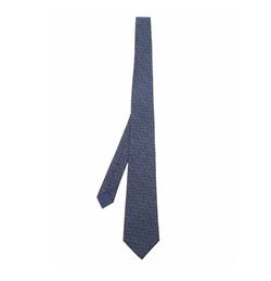 Micro Intrecciato-Print Silk Tie by Bottega Veneta in Designated Survivor