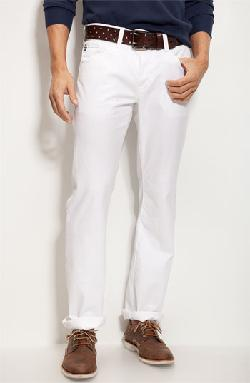 'Protégé SUD' Straight Leg Pants by AG in The Wolf of Wall Street