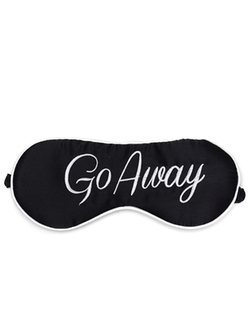 Cheyenne Go Away Eye Mask by Kiss Kill in Scream Queens