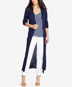 Open-Front Cardigan by Lauren Ralph Lauren in Grace and Frankie