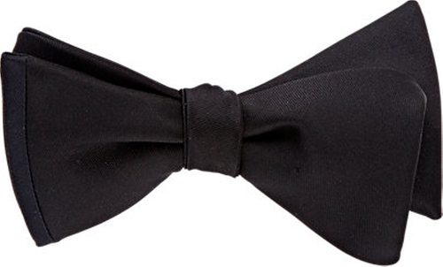 Contrast-Edge Bow Tie by Title Of Work in Atonement