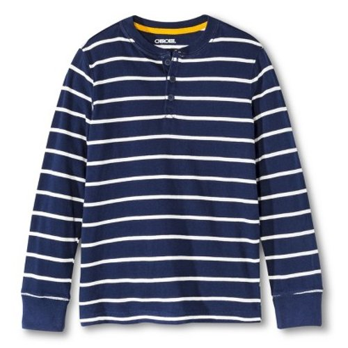 Boys' Striped Henley Shirt by Target in If I Stay