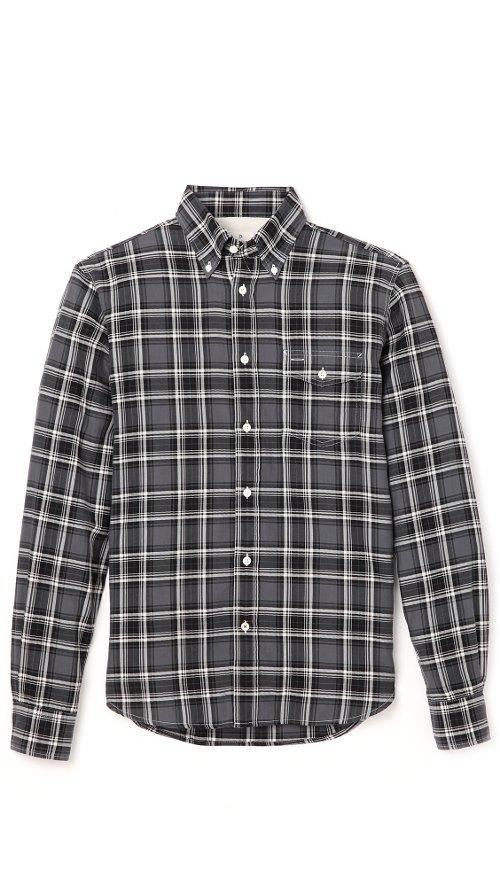Herringbone Plaid Shirt by Hartford in That Awkward Moment