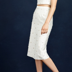Collection Beaded Pencil Skirt by J. Crew in Scream Queens