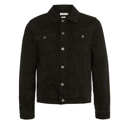 Washed Denim Western Jacket by Topman in MacGyver