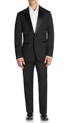 Caiden/Glam Virgin Wool Tuxedo Suit by Boss Hugo Boss in American Horror Story