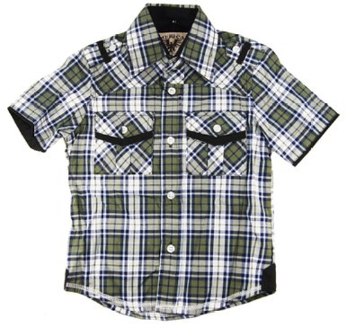 Ultimate Comfort Plaid Dress Shirt by American Heritage in Adult Beginners