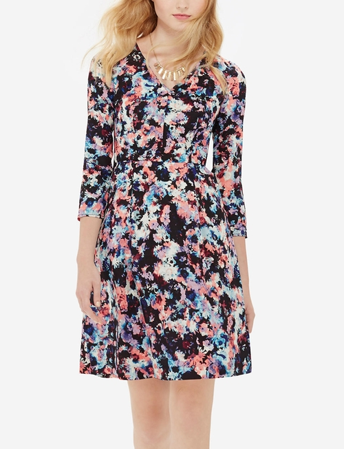 Floral Print A-Line Dress by The Limited in The Big Bang Theory - Season 9 Episode 11