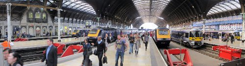 Paddington Station London, United Kingdom in Paddington