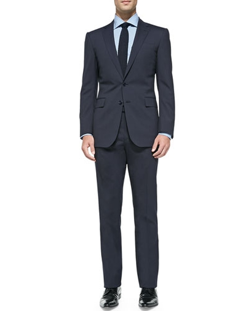 Anthony Track-Stripe Suit by Ralph Lauren Black Label in Suits - Season 5 Episode 2