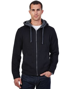 Berber Full-Zip Hoodie Jacket by Nautica in The Good Wife