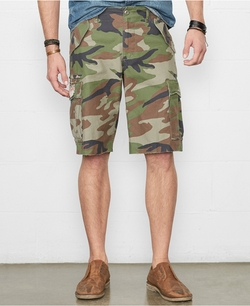 Camo Field Cargo Shorts by Denim & Supply Ralph Lauren in Hall Pass