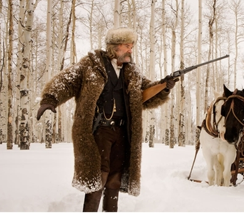 Custom Made 'The Hangman' Buffalo Coat by Merlin's Hide Out (Costume Designer) in The Hateful Eight