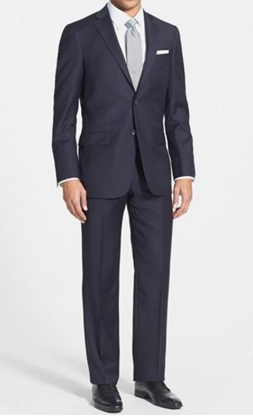 'New York' Classic Fit Wool Suit by Hart Schaffner Marx in Scandal - Season 5 Episode 7