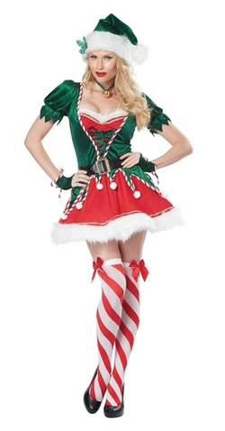Santa's Helper Costume by California Costumes in Brooklyn Nine-Nine