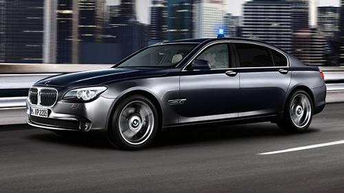 7 Series High Security by BMW in Mortdecai