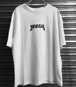 White Yeezus T-Shirt by Yeezy in Keeping Up With The Kardashians