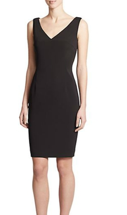 V-Neck Sheath Dress by Escada in Scandal