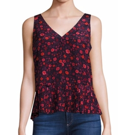 Celia Floral Silk Top by Rebecca Taylor in Modern Family