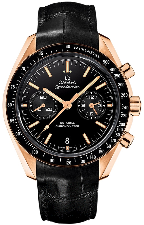 Speedmaster Moonwatch Co-Axial Chronograph by Omega in Fifty Shades of Grey