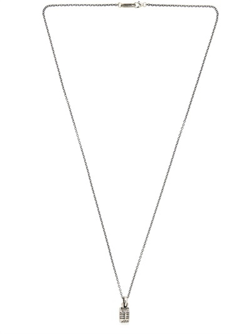 Mic Necklace by Manuel Bozzi in We Are Your Friends