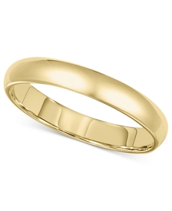 14k Gold Ring Wedding Band by Macy's in Paddington
