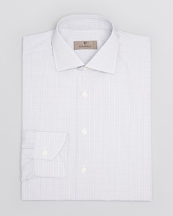 Light Plaid Dress Shirt by Canali in Suits