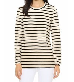 Long Sleeve Fitted Tee by Monrow in Modern Family