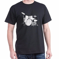 Drum Kit Classic Tee by Cafe Press in Love