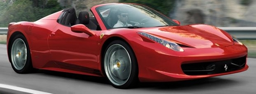 458 Spider Car by Ferrari  in Popstar: Never Stop Never Stopping