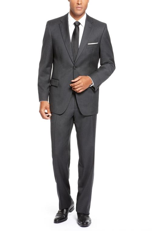 Virgin Wool Suit by Boss Hugo Boss in Dr. No