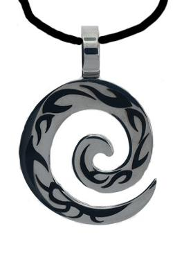 Surgical Steel With Tribal Design Necklace by Pierce this 2 in The Maze Runner