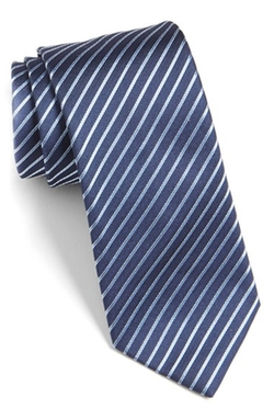 Stripe Silk Tie by Hugo in House of Cards