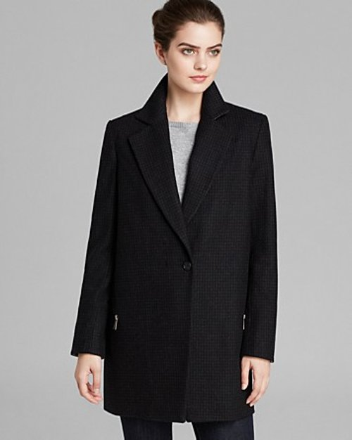 Novelty Emma Coat by DKNY in Her