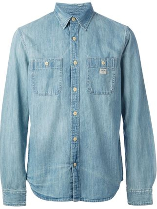 Classic Denim Shirt by Ralph Lauren Denim & Supply in Entourage