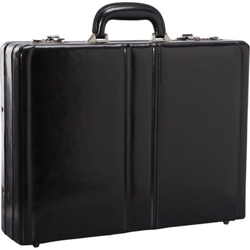 Leather Expandable Attaché Case by Mancini Leather Goods in Suits - Season 5 Episode 3
