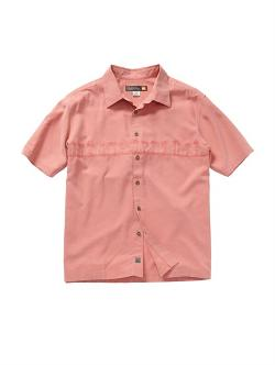 Men's Tahiti Palms Short Sleeve Shirt by Quiksilver in Savages