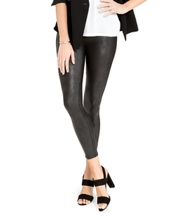 Cropped Faux Leather Leggings  by Spanx  in The Bachelorette
