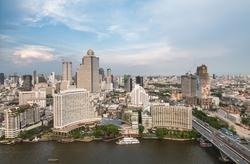 Bangkok, Thailand by Shangri-La Hotel in Gold