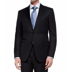 Solid Two-Piece Suit by Ermenegildo Zegna in House of Cards