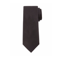 Solid Silk Tie by Lanvin in The Fate of the Furious