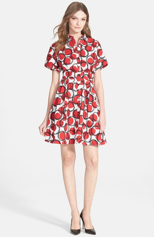 Stamped Dots Shirtdress by Kate Spade New York in Confessions of a Shopaholic